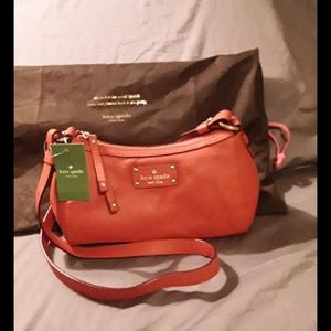 Kate Spade New York real deal leather New York